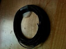 Strong spinning wheel drive band! Jet black cord.