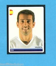 PANINI-CHAMPIONS 2006/2007-Figurina n.32- EDU -VALENCIA-NEW BLACK BACK