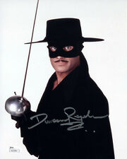 "(SSG) DUNCAN REGEHR Signed 8X10 Color ""Zorro"" Photo - JSA (James Spence) COA"