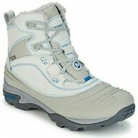 LADIES MERRELL SNOWBOUND MID WATERPROOF LACE-UP SNOW HIKING TRAIL BOOTS 5-8