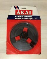 "AKAI R-7P 7"" 18cm Plastic Empty Reel in factory sealed packaging."