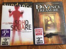 Soho Square Nudity, & Da Vinci Treasure Nudity, 2 Hot Movies 2 DVD'S