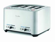 Breville BTA840XL Die-Cast 4-Slice Long Slot Smart Toaster