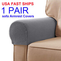 Sofa Armrest Covers Stretchy Chair Couch Arm Protector Stretch to Fit