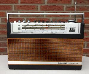 Altes Kofferradio RADIO Transistorradio ITT Schaub Lorenz International 103