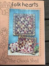 THE CHOOK SHED - Folk Hearts - Pattern