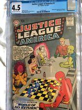 Justice League Of America #1 Cgc 4.5