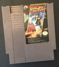 Back To The Future (Nintendo, 1989) NES GAME ! Free shipping !