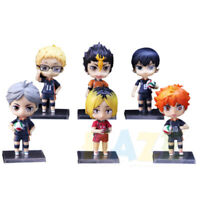 6pcs Haikyuu!! Hinata Syouyou Oikawa Tooru Kozume Kenma Figure Toy Collection