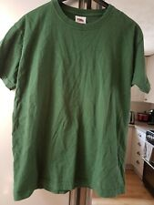 Age 9-11 Boys Green T-shirt. Says Rebel Ryan On The Back