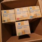 Konica Minolta TN711 Full CMYK Toner Set New in Box, Genuine, Free Shipping