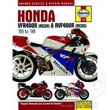HONDA VFR400 (NC30) & RVF400 (NC35) V-FOURS 1989-1998 Haynes Repair Manual 3496