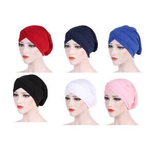Bonnet en Soie Turban Bonnet de Nuit pour Femme