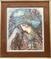 Make Offer(s):Huge Barbara A Wood's Art. Signed Limited Edition (577/875) Print