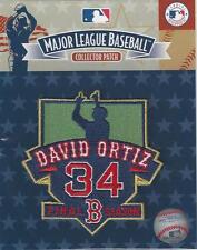 David Ortiz Final Season Retirement Patch Official Logo Original Packaging NEW