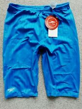 "Speedo  Mens 36"" Aquablade hydrashorts blue swimming training  BNWT"
