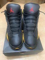 Nike Air Jordan 13 Retro (GS) Black/ University Red  Noir/ University Size 4Y