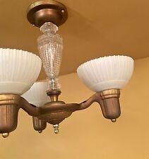 Vintage Lighting restored 1930s fixture by Markel
