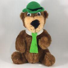"Vintage Yogi Bear Plush / 1980 Hanna Barbera Mighty Star 9"" Stuffed Animal Doll"