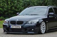 Spoilerschwert Frontspoiler Cuplippe aus ABS für BMW 5er E60 E61 M-Paket mit ABE