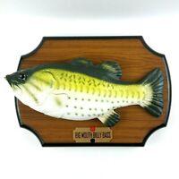 Original Big Mouth Billy Bass Gemmy 1999 Singing Fish Animatronic Animated Wall
