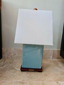 Ralph Lauren Home Blue Crackle Porcelain Table Lamp