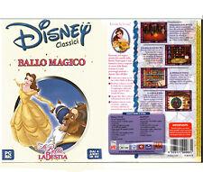 DVD GIOCO INTERATTIVO PER PC E MAC LA BELLA E LA BESTIA BALLO MAGICO