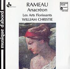 RAMEAU : ANACREON - ART FLORISSANTS, WILLIAM CHRISTIE / CD - TOP-ZUSTAND