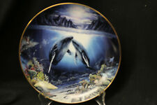 """Robert Lyn Nelson - Plate """"Moonlit Night"""" - """"Underwater Paradise"""" Collection"""