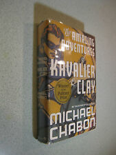 The Amazing Adventures of Kavalier and Clay by Michael Chabon (2000, HC/DJ) 1st