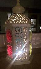 Orientalische Laterne für Kerzen * Lampe Marokko z.Hängen o. Stellen *OVP* #Deko