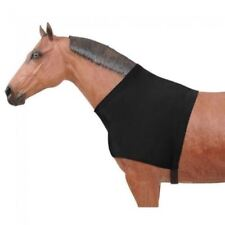 D.A. Brand Black Lycra Shoulder Guard Size Small Horse Tack Equine