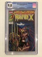 Marvel Comics Presents #74 CGC 9.8 Wolverine 1991 Weapon X - Barry Windsor-Smith