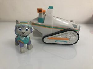 Paw Patrol EVEREST Figure and Vehicle Snow Snowmobile