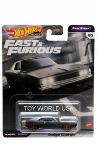 2021 Hot Wheels Fast & Furious Premium Fast Stars #4 Dodge Charger