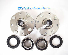Front Left & Right Wheel Hub & Wheel Bearing Set for 2000-2004 VOLVO S40 / V40