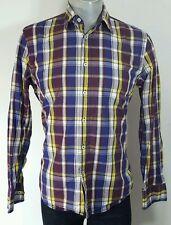 Marc o 'polo homme vibrant plaid chemise décontractée grande équipée