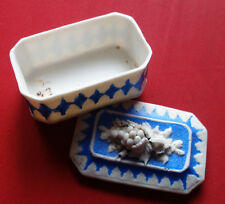 Superbe boite, coffret à bijoux, fin XVIIIè, début XIXè siècle. en Wedgwood