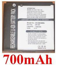 Batería 700mAh tipo BP-6M BP-6M-S Para Nokia 3250
