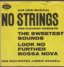 """7"""" Jimmie Haskell the Sweetest sonidos (desde el musical no strings) 60`s"""