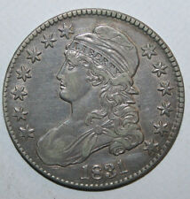 1831 CAPPED BUST HALF G75