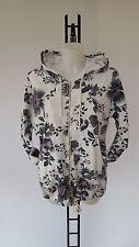 Lange geblümte Damen-Pullover & -Strickware mit Rundhals-Ausschnitt