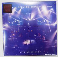 PUBLIC SERVICE BROADCASTING LP x 2  + DVD + Downloads LIVE AT BRIXTON BLUE Vinyl