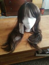 Kalyss Brown with Highlights Yaki Synthetic Women's Wig Cosplay, Costume, Xmen