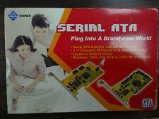 Tarjeta PCI SERIAL ATA/ SATA 2 canales Externo Interno