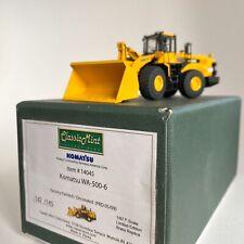 CMC 14045 Komatsu WA-500-6 Brass 1:87 Scale Model - Limited Edition 142/145