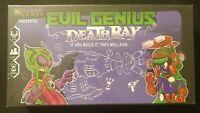 Vile Genius Games Evil Genius Death Ray - FACTORY SEALED - 2-6 players 8+ 40min