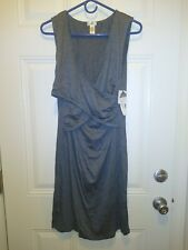 Lamaze Maternity/Nursing Sleep Wear Gown color is gray and size is XL.