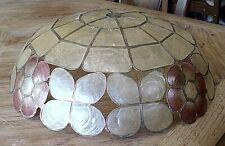 New ListingVtg Arts & Crafts Capiz Shell Table Lamp Shade(Nice)