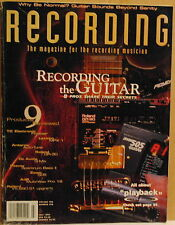 Recording the Guitar,Roland GR-30,Zoom 505~July 1997 Recording Magazine
